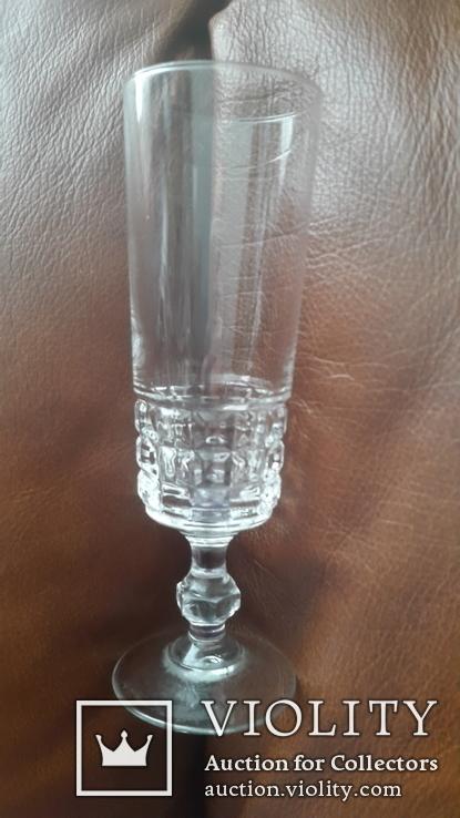 Старинный бокал стекло,хрусталь ?, фото №6