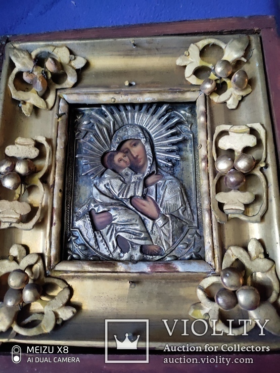 Старинная икона в окладе, фото №4