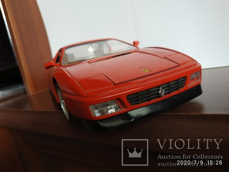 Ferrari 348 tb bburago 1989год Italy, фото №11