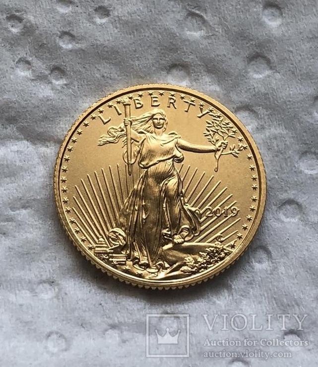США 5 $ 2019 год 3,39 грамм 917'