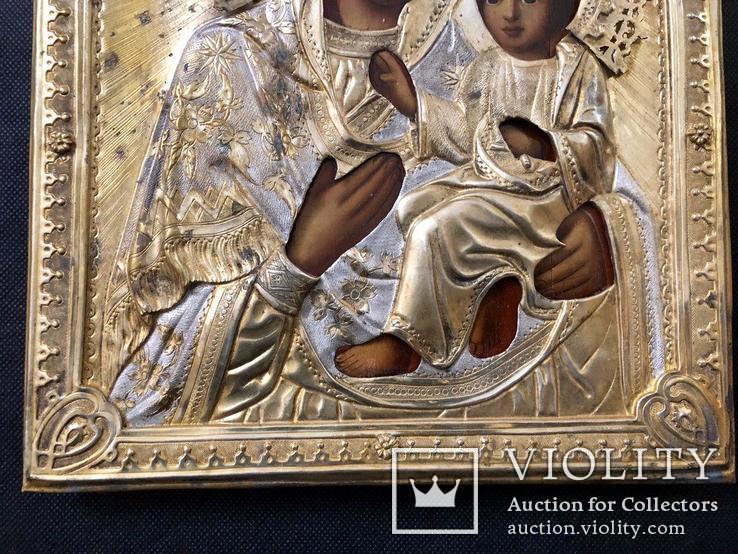 Тихвинская икона Богородицы, фото №4