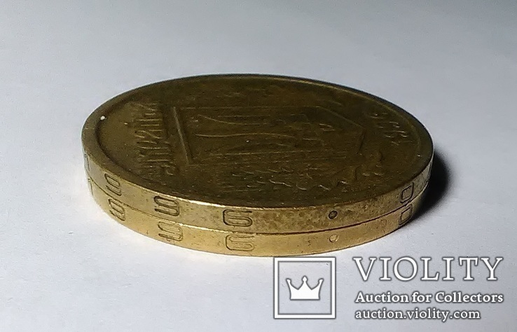 1 гривна 1996 (2 штуки), фото №8