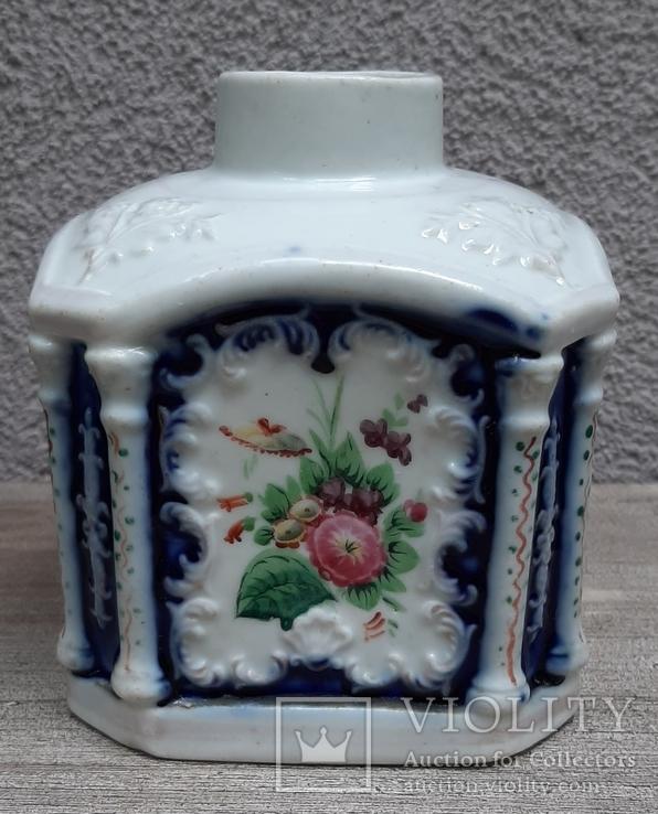 Чайница (флакон парфюмерный?) Российская империя(?),, фото №2