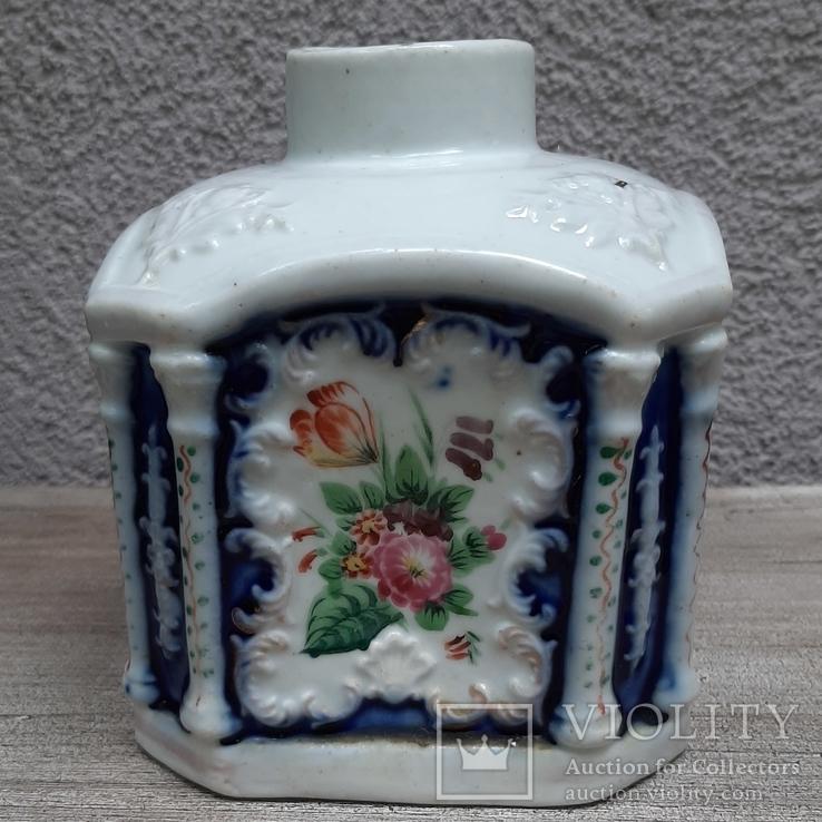 Чайница (флакон парфюмерный?) Российская империя(?),, фото №3