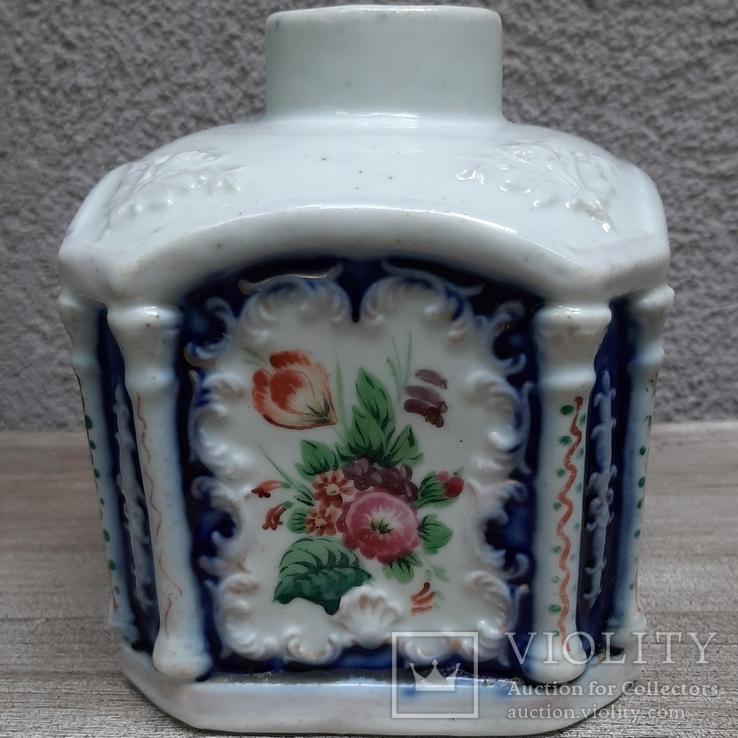 Чайница (флакон парфюмерный?) Российская империя(?),, фото №5