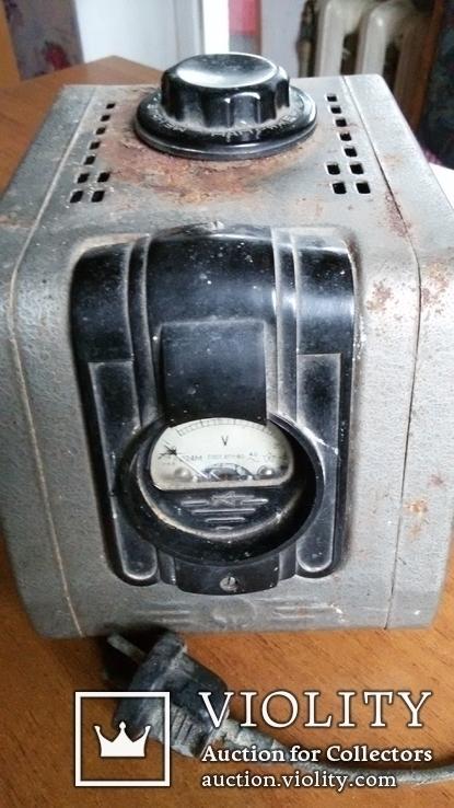 Стабилизатор  с регулятором напряжения  1966 года выпуска. Рабочий., фото №2