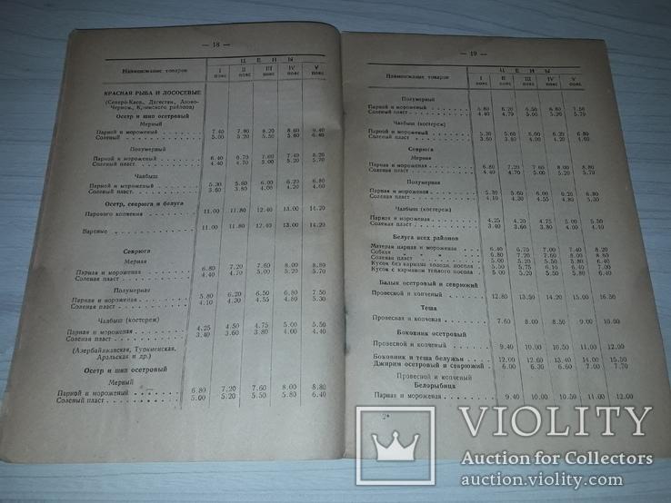 Прейскурант цен на рыбу и сельдь 1935, фото №11