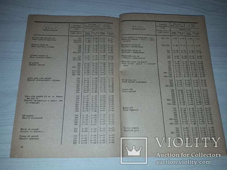 Прейскурант цен на консервы и правила торговли 1937, фото №9
