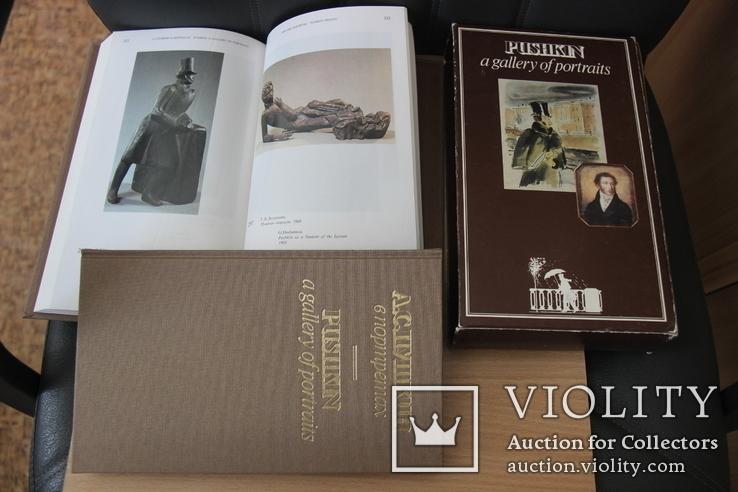 """2-томник""""Пушкин в портретах"""", финская печать, фото №4"""