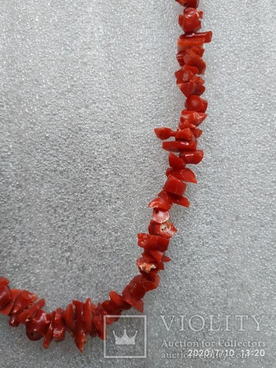 Коралловые бусы, фото №4