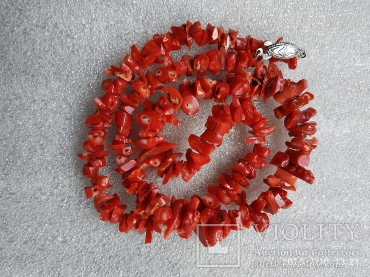 Коралловые бусы, фото №6