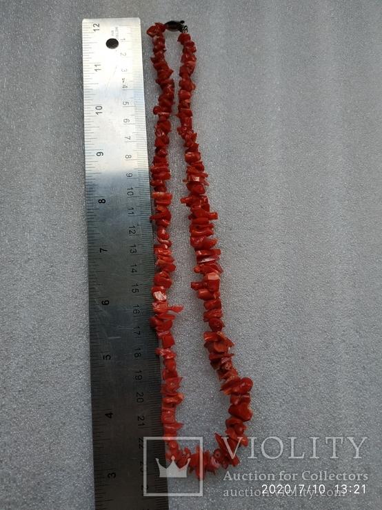 Коралловые бусы, фото №7