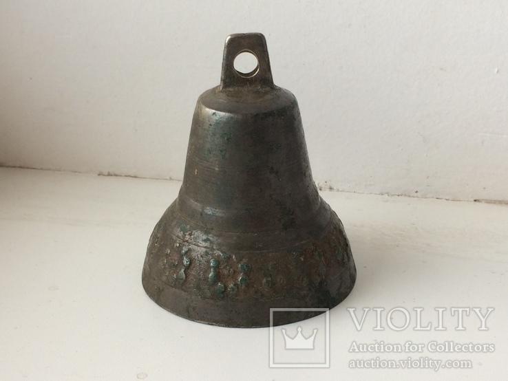 Старинный колокольчик - 7 см, фото №2