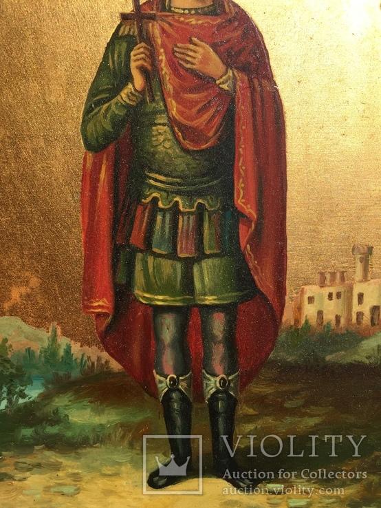 Икона Дмитрий Солунский, фото №4