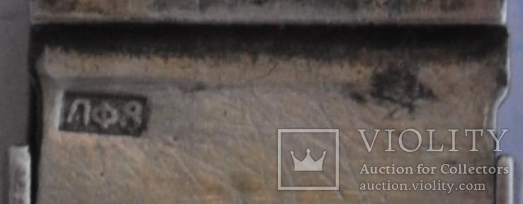 Браслет серебняный,часовой - 875 звезда , 27.7грамм., фото №11