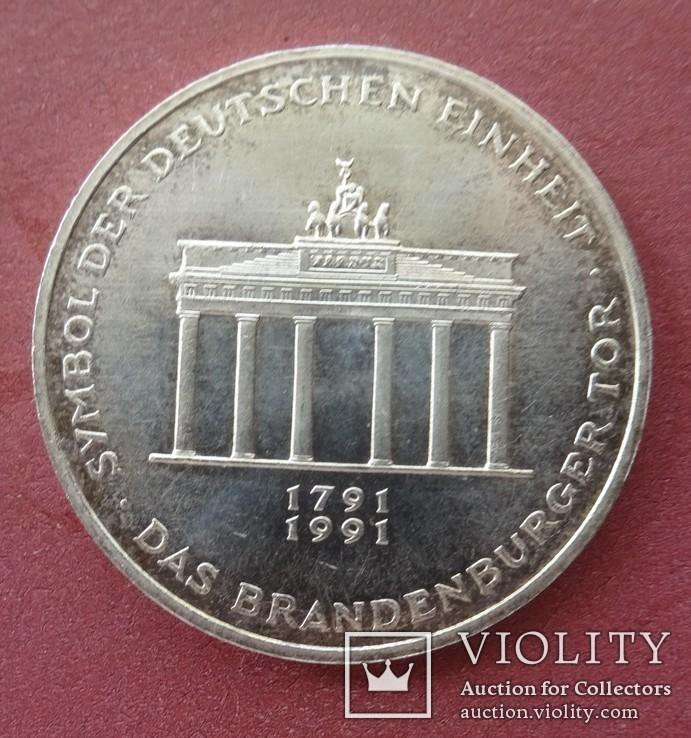 10 марок. Германия, 1991 год., фото №2