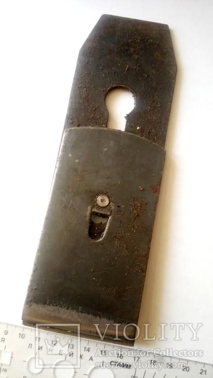Лезвие фуганка советское новое Ширина 65 мм в смазке, фото №9
