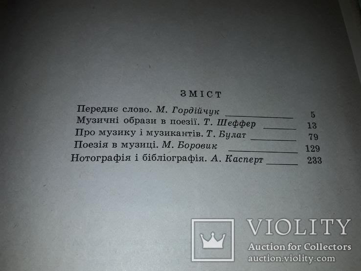 Рильський і музика Київ 1969 тираж 800, фото №6