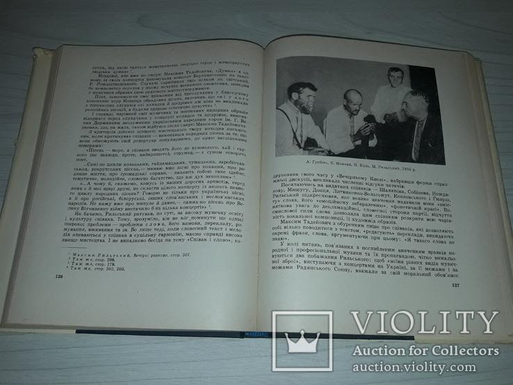 Рильський і музика Київ 1969 тираж 800, фото №8