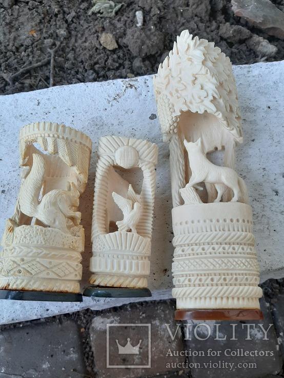 Фигурки из кости, фото №2
