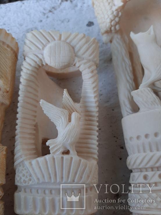 Фигурки из кости, фото №6