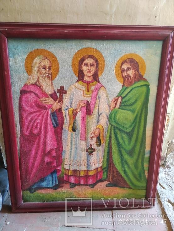 Икона Трех святителей, фото №2
