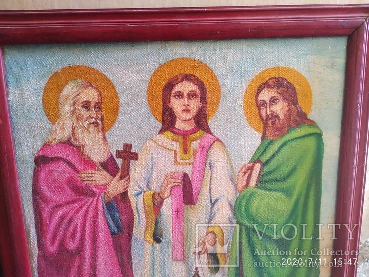 Икона Трех святителей, фото №3