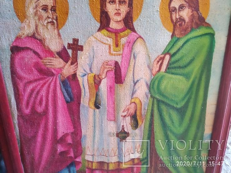 Икона Трех святителей, фото №4