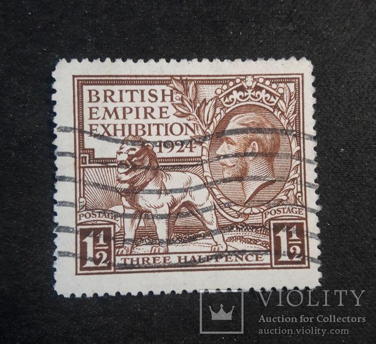 Марка Великобритании 1924 года, фото №3