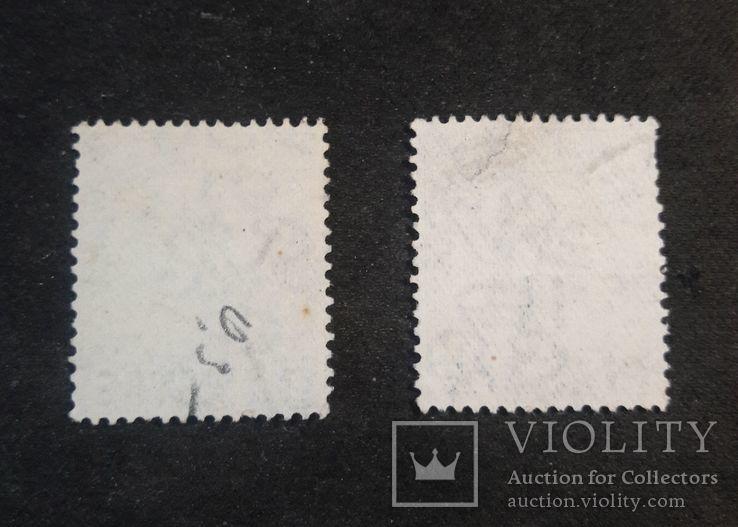 Марки Британской почты в Турецкой Империи 1913 гг., фото №3
