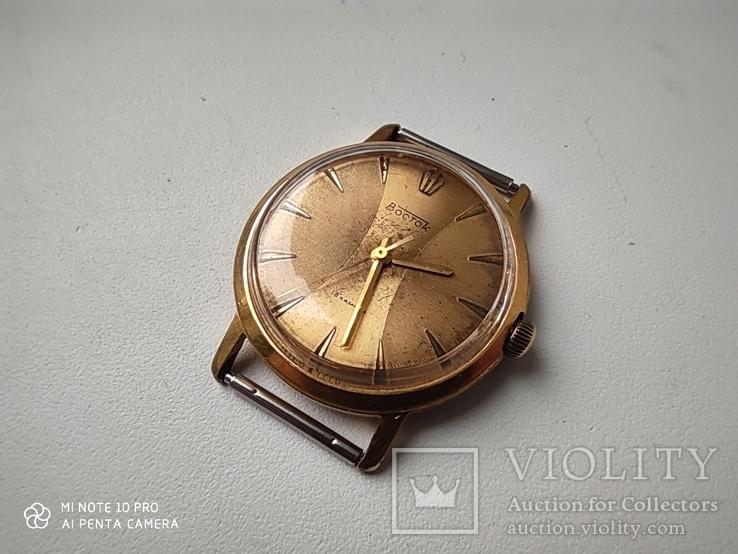 Часы Восток позолота Au20, фото №5
