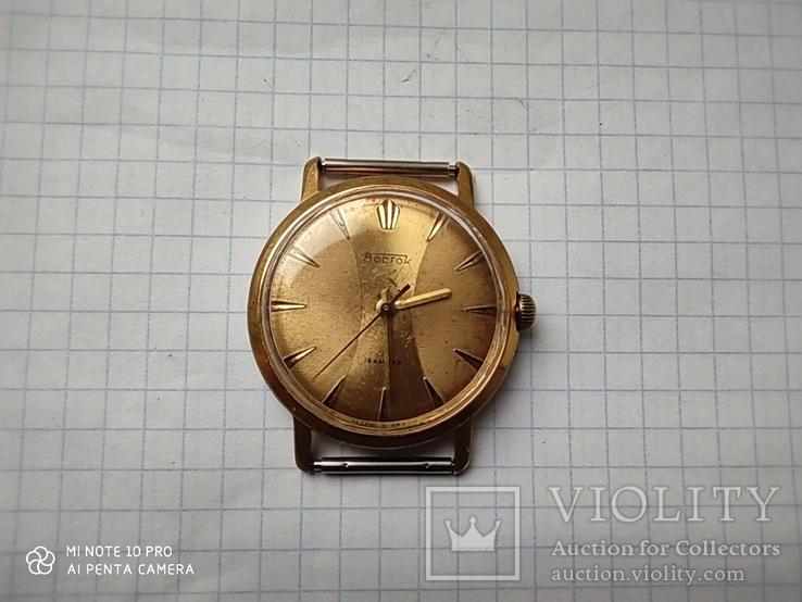 Часы Восток позолота Au20, фото №12