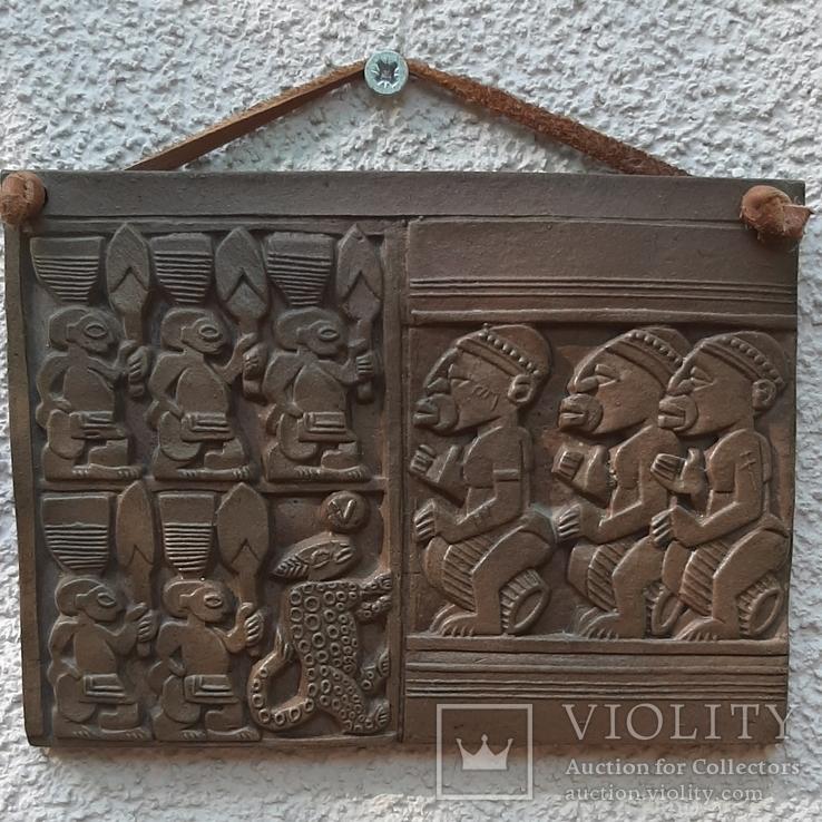 Керамическая табличка-панно Африка, фото №2