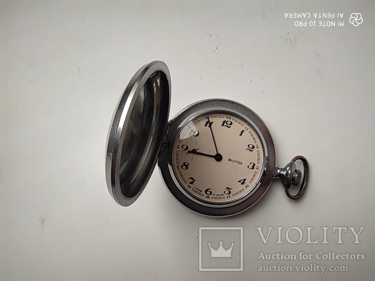 Часы карманные Молния, фото №4