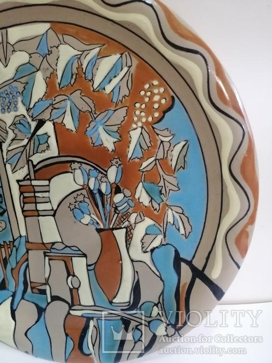 Настенная тарелка ЛКСФ, фото №12