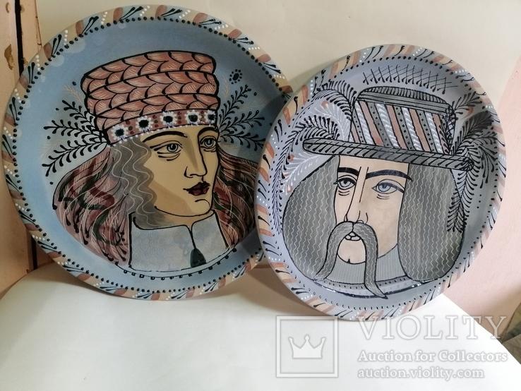Настенные тарелки пара ЛКСФ