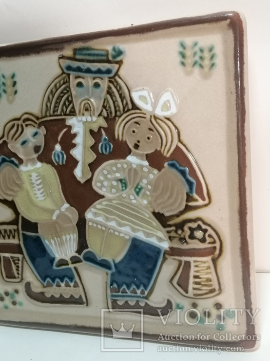 Настенная тарелка ЛКСФ, фото №11