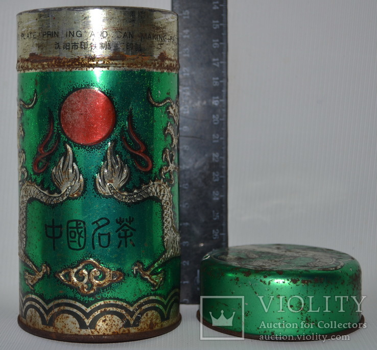 """Коробка з-під чаю  """"Дракон"""". Китай, фото №2"""