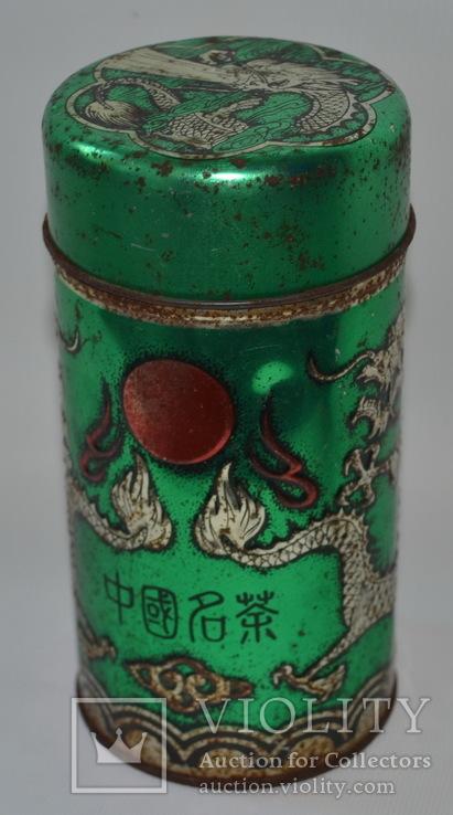 """Коробка з-під чаю  """"Дракон"""". Китай, фото №6"""