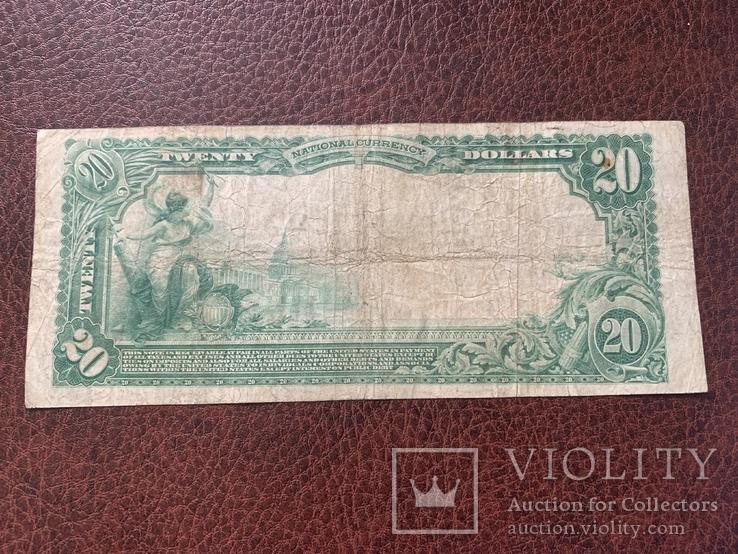 20 доларів / доларов 1905, фото №3