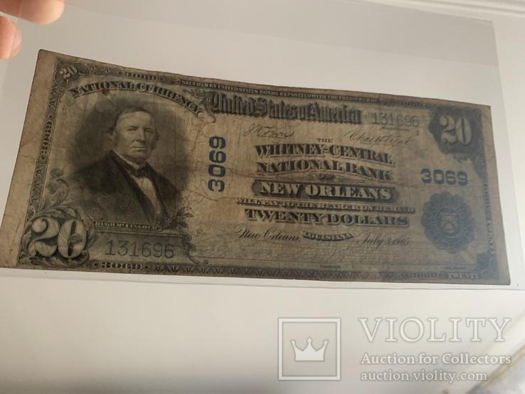 20 доларів / доларов 1905, фото №4
