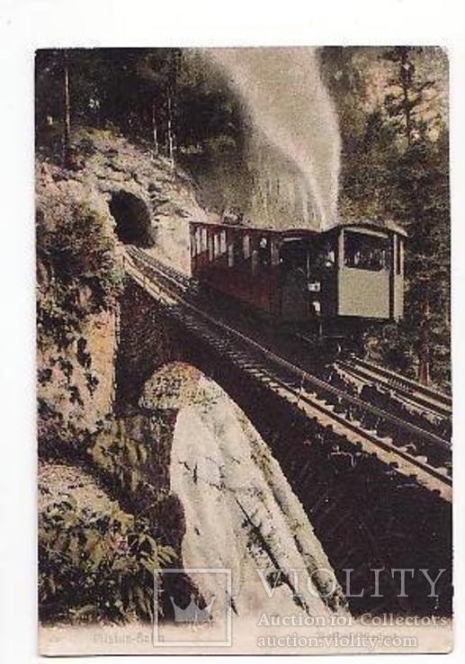 Швейцария Зубчатая жел.дорога Pilatusbahn виадук