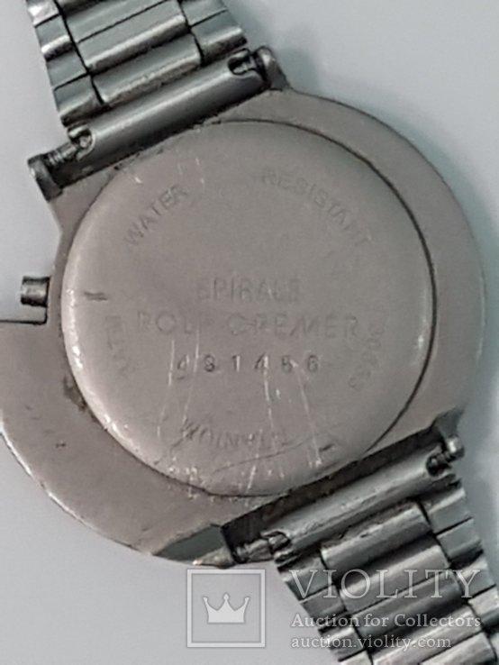 Рольф Кремер  Часы - спираль - титан - под старину, фото №5