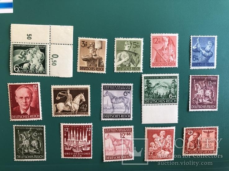 Серии марок рейха, фото №2