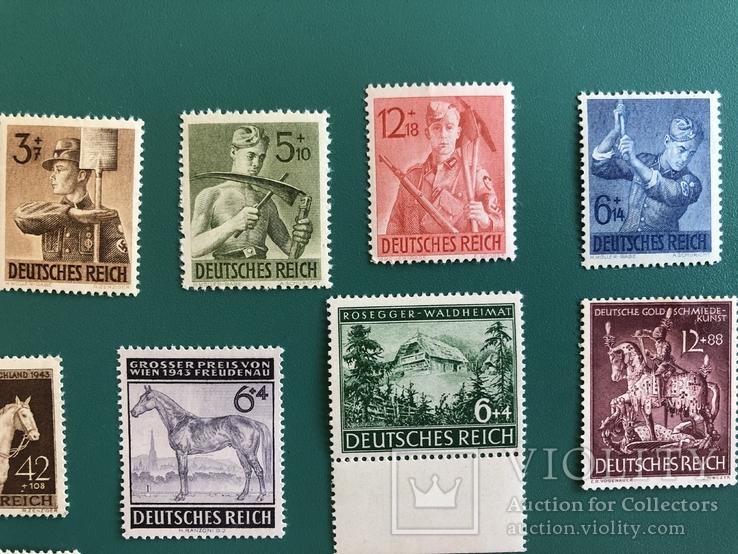 Серии марок рейха, фото №4