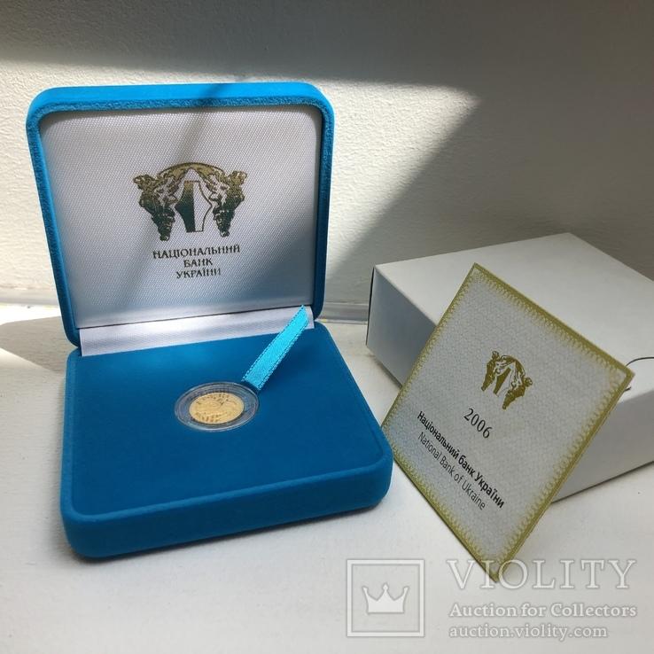 """Золотая монета """"Овен"""" (серия """"Знаки зодиака""""), фото №2"""
