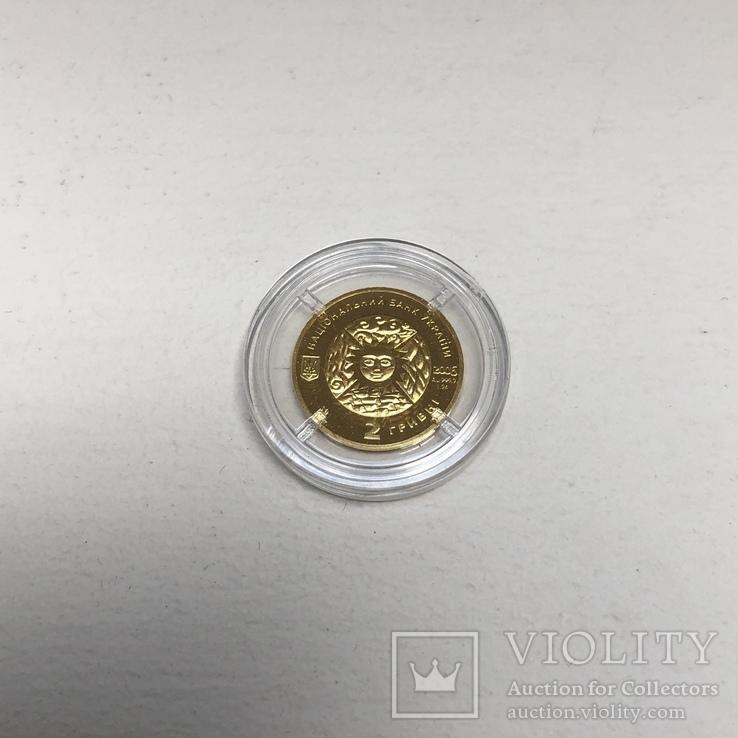 """Золотая монета """"Овен"""" (серия """"Знаки зодиака""""), фото №6"""