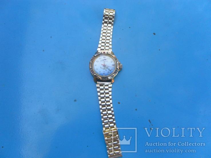 Часы,командирские,с браслетом на увереном ходу,, фото №4