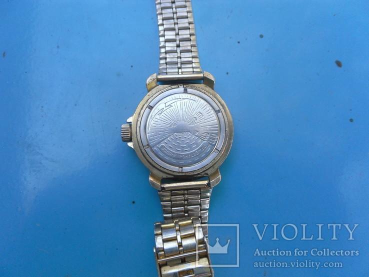 Часы,командирские,с браслетом на увереном ходу,, фото №5