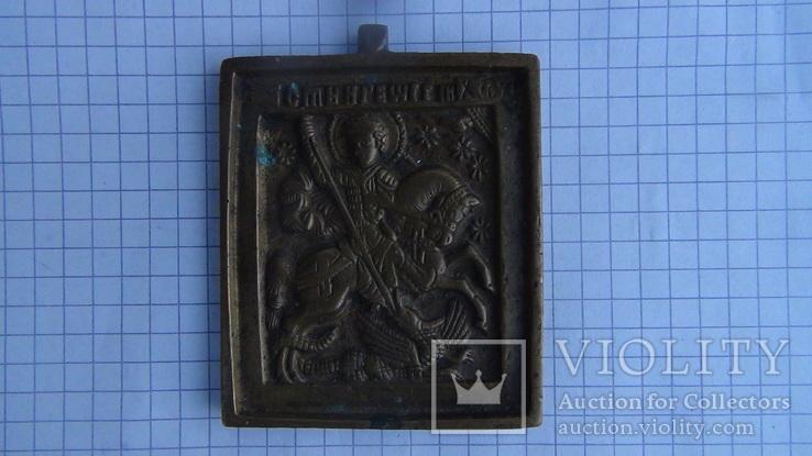 Ікона литво. Святий Георгій змієборець, фото №2